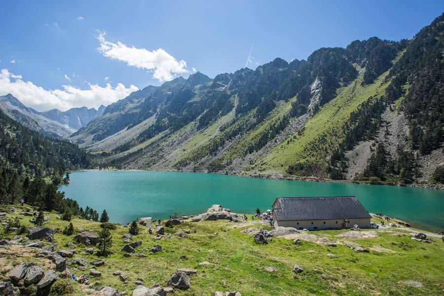 Le Lace de Gaube Pont d'Espagne au dessus de Cauterets Hautes Pyrénées (65)
