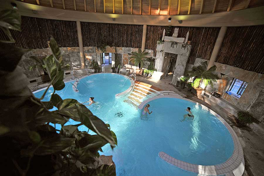 Le jardin des bains Argeles-Gazost