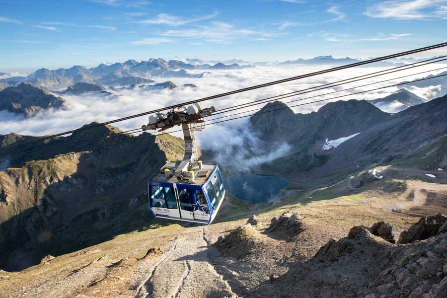 Le téléphérique du Pic du Midi de Bigorre