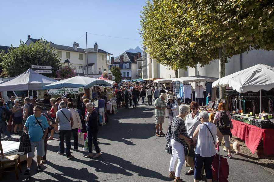 Argeles Gazost et son marché