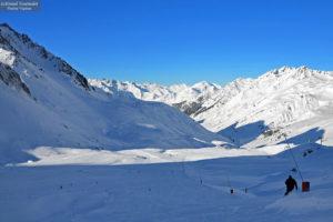 Les pistes de Ski au Grand Tourmalet