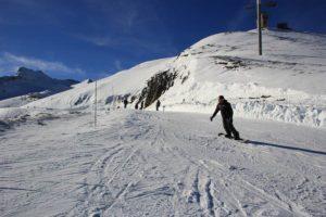 Piste de ski et snow Luz-Ardiden Hautes Pyrénées