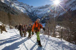 Val d'Azun, balades en raquettes