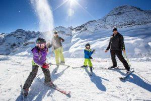le Ski en famille à Cauterets