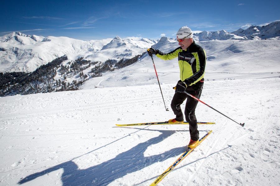 Ski nordique Hautacam Hautes-Pyrénées