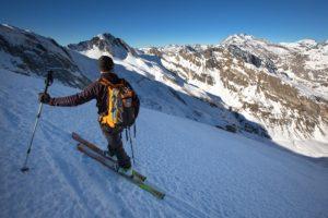 Les paysages de Gavarnie à ski