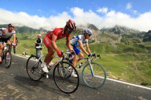 Le Tour de France montée du Hautacam