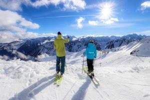 Ski Admirez la vue depuis le Cirque du Lys-Cauterets