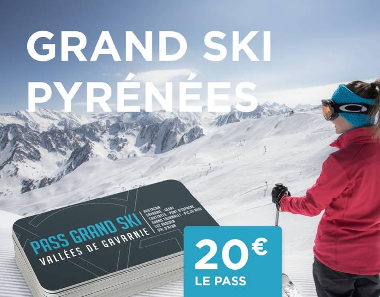 Pass Grand Ski Pyrénées