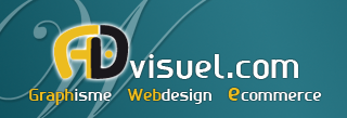 logo advisuel graphiste agence web toulouse