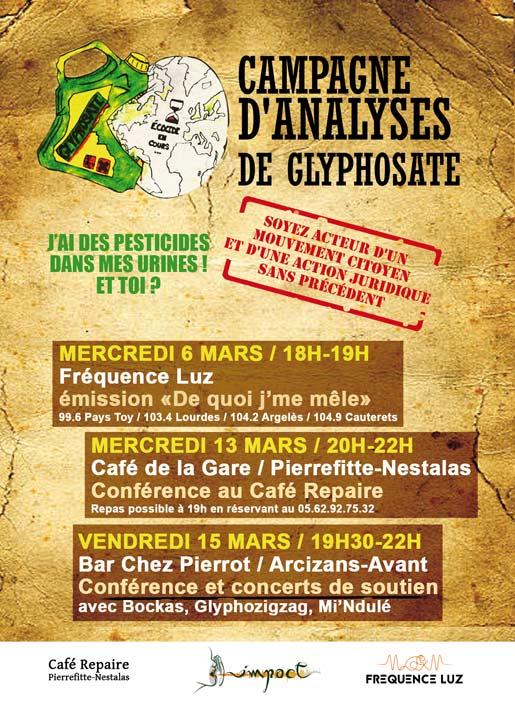 Conférence café repaire Glyphosate