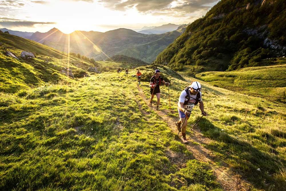 Trail du Hautacam 2019, départ de Beaucens